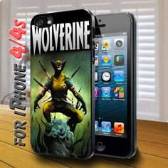 wolverine Black Case for iphone 4 / 4s