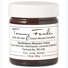 Tammy Fender Spontaneous Recovery Creme