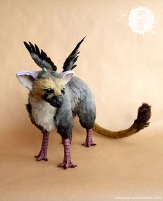 TRICO - The Last Guardian art doll by hikigane on DeviantArt Mythical Creatures Art, Alien Creatures, Mythological Creatures, Fantasy Creatures, Easy Chibi Drawings, Kawaii Drawings, Cute Drawings, Shadow Of The Colossus, Avatar The Last Airbender Art