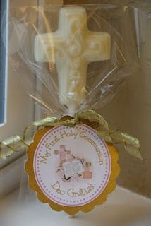 "Great First Holy Communion Party Favors from ""Catholic Cuisine"""