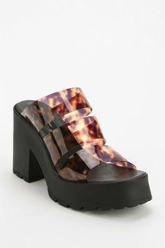 Miista Ava Jelly Platform Sandal