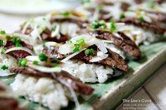 소고기다다끼초밥,소