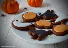 Chocolate Orange Halloween Cookies