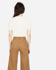 The Cotton Box-Cut Pocket Tee - Everlane - $1