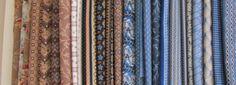 Austen Family Album fabrics