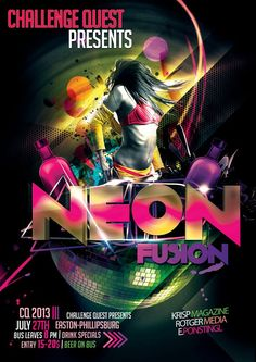Neon Fusion Flyer  https://www.facebook.com/LVChallengeQuest