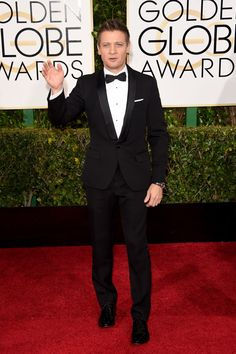 Jeremy Renner 72nd Annual Golden Globe Awards - Arrivals - Pictures