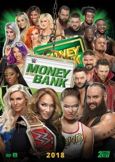 Money Bank, Money In The Bank, Finn Balor, Ronda Rousey, The New Day Wwe, Wwe Events, Wwe Ppv, Jax, Wwe Money
