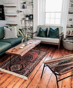 A Modern Apartment Living Room: Home and Interior – Get Yourself a Stylish Living Room That's Fun My Living Room, Living Room Interior, Home And Living, Living Spaces, Mid Century Living Room, Living Room Wooden Floor, Living Room Lamps, Boho Chic Living Room, Interior Livingroom