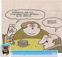 Karikatür: Bu da obezite..