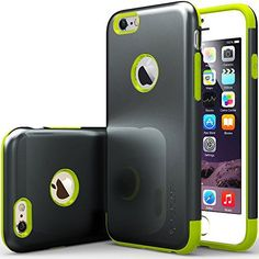 """iPhone 6 Case, Caseology [Dual Layer] Apple iPhone 6 (4.7"""" inch) Case [Charcoal Black / Lime Green] Premium Slim Fit Impact Resistant Protective Armor Rugged Hard iPhone 6 Case [Made in Korea] (for Apple iPhone 6 Verizon, AT&T Sprint, T-mobile, Unlocked) Caseology http://www.amazon.com/dp/B00LAHPJ0I/ref=cm_sw_r_pi_dp_5Pqgvb12SN4WY"""