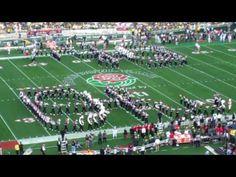 """Rose Bowl """"Script Ohio"""""""