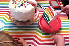 another great use of the rainbow cake, and another great post from making it lovely.