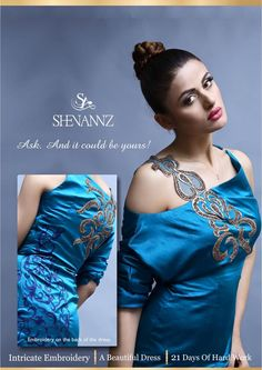 East Meets West with 'ShenAnnz' The Creator, One Shoulder, Formal Dresses, Design, Fashion, Dresses For Formal, Moda, Fashion Styles, Fasion