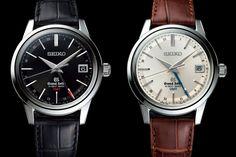 Grand Seiko Hi-Beat 36000 GMT SBGJ017 and SBGJ019