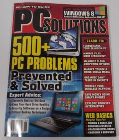 PC Solutions May 2013 Computers & Internet, English