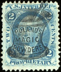 US Internal Revenue Stamps | ... cancellation on this Two Cent U.S. Internal Revenue Proprietary Stamp