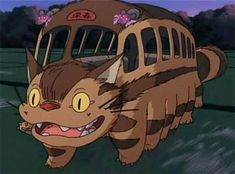 My neighbor totoro cat bus