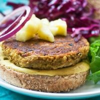 Carefree Curry Burgers | Post Punk Kitchen | Vegan Baking