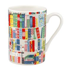 Story Books Grace Mug |Our grace mug gets a new season update in our Story Books print. Designed to make tea and coffee drinking that little bit more enjoyable, it comes with a perfectly proportioned handle and makes a really lovely gift. | Cath Kidston |