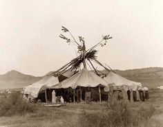 19th century western american indian dance lodge art - Google Search