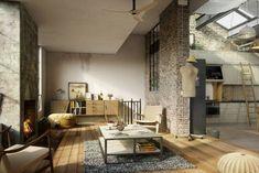 taburetes-alfombra-gris-loft-diseno-moderno.jpg (760×508)