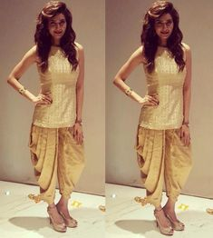 dhoti pants women - dhoti pants outfit - dhoti pants - dhoti pants outfit crop tops - dhoti pants outfit wedding - dhoti pants pattern - dhoti pants outfit anamika khanna - dhoti pants women - dhoti pants for men Pakistani Dresses, Indian Dresses, Indian Outfits, Indian Party Wear, Indian Wear, Salwar Designs, Blouse Designs, Dhoti Salwar Suits, Patiala Pants