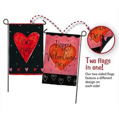 Be Mine Suede Double Sided Garden Flag