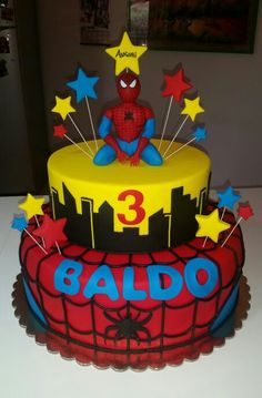 Torta spiderman cake