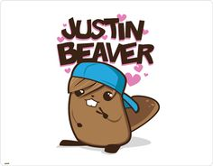 Justin Beaver   lol looking for phone covers on skinit i see alot that i like im not a fan of justin biber but this is cute