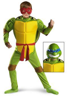 Lots of TMNT stuff here since Aja HAS to be one for Halloween / Tried. Halloween Costume KidsHalloween ...  sc 1 st  Pinterest & Leonardo Teenage Mutant Ninja Turtles Toddler Fancy Dress Costume ...