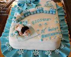 Cake design battesimo - idee e strumenti per realizzarle su www.decorazionidolci.it