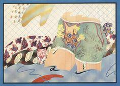 "Attersee Christian Ludwig  ""Scharmhaarlockenwicklerbild"", 1970 Plakat zur Ausstellung ""Attersees Schönheit"" in der Galerie Ariadne ohne Schr... Ludwig, Painting, Global Art, Poster, Painting Art, Pictures, Paintings, Painted Canvas, Drawings"