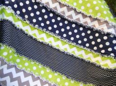 navyblue limegreen toddler room | 38x38 Navy Blue Grey and Lime Green Chevron by BubbyBearBlankets, $38 ...