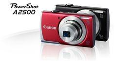 Canon PowerShot A2500 16MP Digital Camera