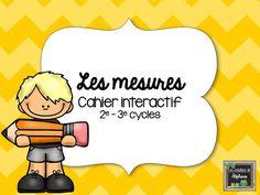 Les créations de Stéphanie: Les mesures - Cahier interactif.