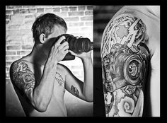 Camera Tattoo by VaughanPhoto, via Flickr