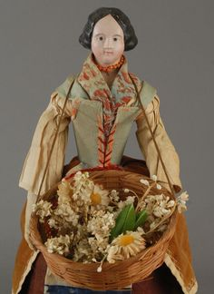 Carmel Doll Shop -Early Dolls- once bought a china head and a parian from them