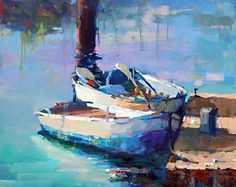 Tucked In by Trisha Adams Oil ~ 24 x 30