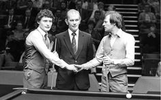 Jimmy White remembers first playing Alex Higgins in 1982.