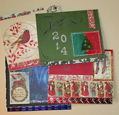 Cross Stitch Christmas Card Kit by shipsmanor on Etsy