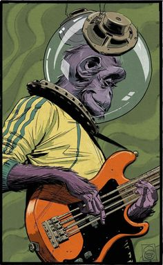 Bass is no monkey business.