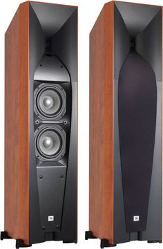 JBL Studio 580 Get these bad boys home with uShip! Audio Hifi, Pro Audio Speakers, High End Speakers, Big Speakers, Audiophile Speakers, Horn Speakers, Tower Speakers, Sound Speaker, High End Audio