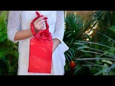 1 Minute Eco-Friendly Gift Wrapping! (3 Styles * No Tape & Scissor Necessary!) - YouTube
