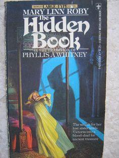VINTAGE 1970'S GOTHIC MYSTERY SUSPENSE ROMANCE MARY LINN ROBY THE HIDDEN BOOK