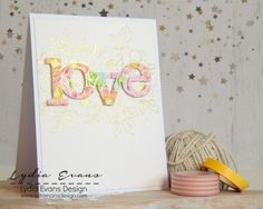 Winnie and Walter; love die; pastel; soft; beautiful; gold embossing; Valentine; anniversary; floral; outline