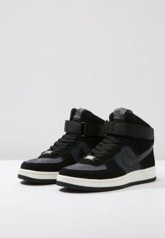 Nike Sportswear AIR FORCE 1 ULTRA FORCE MID - Sneaker high - black/dark grey - Zalando.de