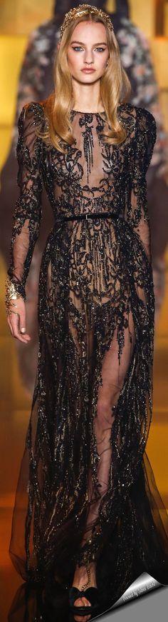 Elie Saab Haute Couture Fall 2015.