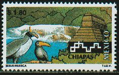 World Heritage Site Stamps of Mexico