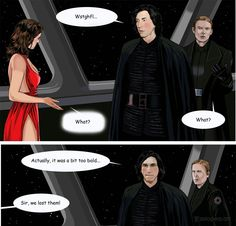 Kylo Ren gets distracted by Rey in Force Time